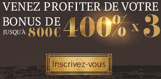 Bonus de 800€
