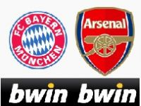 Bwin Poker : places VIP Bayern - Arsenal en Ligue des Champions