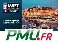 PMU Poker : gagnez 8 Packages WPT National Cannes