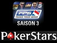 PokerStars : calendrier de la Saison 3 des France Poker Series