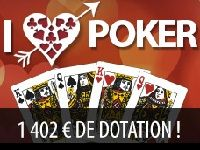 Everest Poker : Tournoi I Love Poker pour la Saint-Valentin