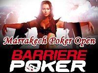 Barrière Poker vous convie au Marrakech Poker Open 2013