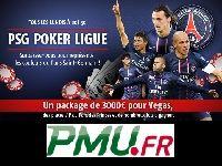 PMU Poker vous offre ce soir 250 Euro et un maillot du PSG