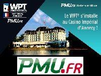 PMU Poker vous offre 7 Packages pour le WPT Annecy