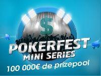 PMU Poker : 100 000 Euro pour le PokerFest Mini-Series