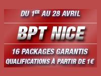Barrière Poker : 16 Packages BPT Nice à gagner en Avril