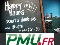 PMU Poker : boostez vos Points avec les Happy Hours