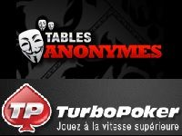 Turbo Poker lance des tables totalement anonymes
