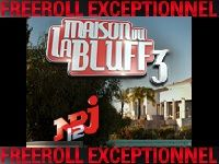 PokerStars : ce soir, Freeroll pour intégrer La Maison du Bluff 3