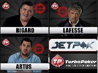 Turbo Poker accueille Bigard, Lafesse et Artus pour JetPok