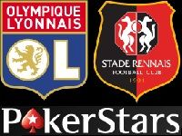 PokerStars : ce soir, Freeroll Olympique Lyonnais - Stade Rennais