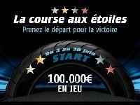 PMU Poker : 100 000 Euro pour la Course aux étoiles
