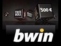 Bwin Poker : 500 Euro pour le TOP 200 du Freeroll Quotidien