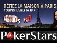 PokerStars : ce soir, 10 Packages Défiez La Maison du Bluff