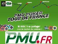 PMU Poker : 10 000 Euro à se partager pour le Tour de France