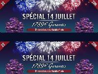 Winamax Poker : Tournoi du 14 Juillet avec 1789 Euro de cadeaux