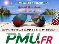 PMU Poker : Bonus Cash pour le Défi Sit & Go Summer