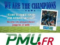 PMU Poker : Freerolls contre l'Equipe de France Espoirs