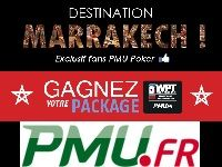 PMU Poker : Destination Marrakech depuis Facebook