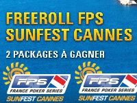PokerStars : un Freeroll vers le FPS SunFest Cannes ?