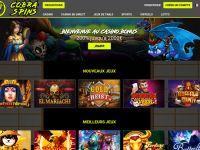 Nouveau Casino en ligne Français : CobraSpins