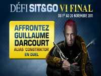 Affrontez Guillaume Darcourt sur PMU Poker