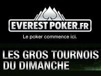Everest Poker : 100 000 Euro tous les dimanches
