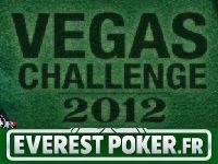 Poker : Vegas Challenge 2012 sur Everest Poker
