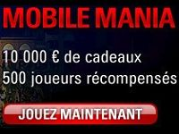 La Mobile Mania continue sur PokerStars