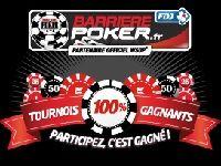 Poker : tournois 100% gagnants sur Barrière Poker