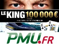 Poker : 100 000 Euro pour Le King de PMU Poker