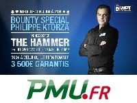 Poker : faîtes tomber Philippe Ktorza sur PMU Poker