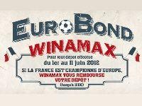 Winamax : jusqu'à 100 Euro remboursés en cas de victoire des Bleus à l'Euro 2012