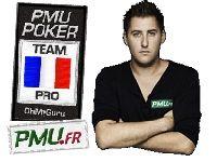 PMU Poker : déjà 200 Euro pour Clément Beauvois