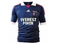 Everest Poker vous offre 5 maillots de l'Olympique Lyonnais