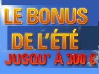 PokerStars : bonus de l'été jusqu'à 300 Euro ?