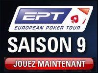 PokerStars : qualifications pour l'EPT Saison 9
