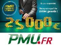 Poker : gagnez 25 000 Euro aux PMU Poker Series