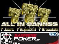 Barrière Poker présente All In Cannes (WSOPE 2012)