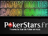 PokerStars lance les Happy Hours Cash Game