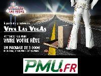 PMU Poker : Viva Las Vegas avec 3000 Euro ?