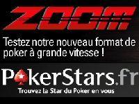 Avec Zoom, PokerStars invente le Poker à grande vitesse