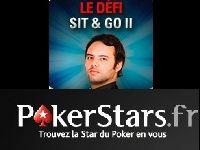 PokerStars : 5000 Euro pour le défi Sit & Go de Julien Brécard