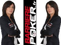Barrière Poker organise un Tournoi Bounty Estelle Denis