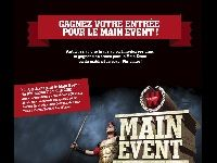 Winamax : 1 accs gratuit au Main Event depuis Facebook ?