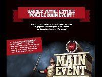 Winamax : 1 accès gratuit au Main Event depuis Facebook ?