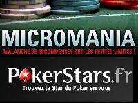 PokerStars : gagnez gros en jouant petit avec Micromania