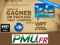 PMU Poker : 15 invitations exclusives pour le WPT Ile Maurice
