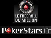 PokerStars : Mercredi, participez au Freeroll du Million