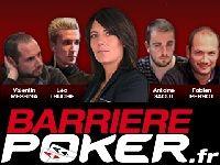 Barrière Poker : nouveau Tournoi Bounty Estelle Denis